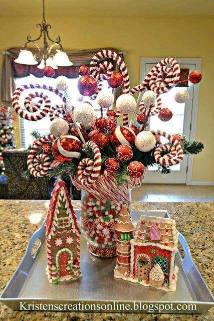 Christmas Counter.Christmas Counter Top Christmas Christmas Decorations
