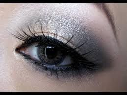 Gunmetal Smokey Eye Look (tutorial Holly Ann Aeree)