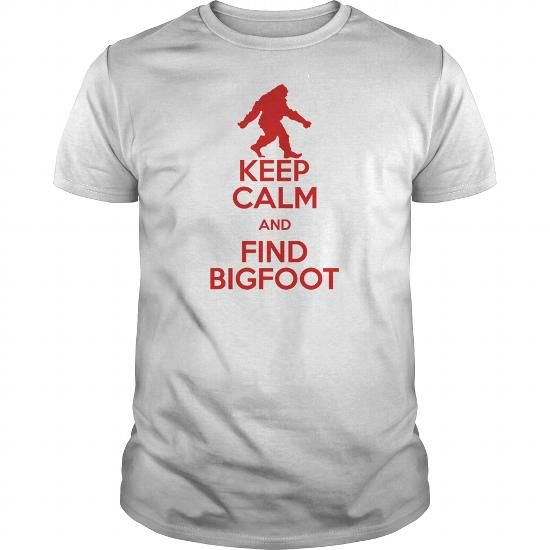 keep calm and find bigfoot