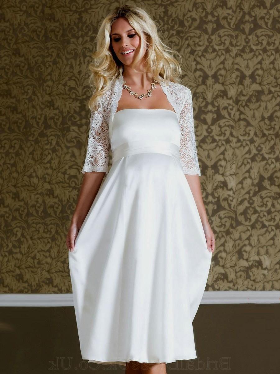 15 wedding dress ideas for older brides short maternity