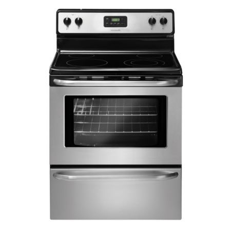 "Frigidaire 30"" Stainless Steel Smoothtop Electric Range (Model: FFEF3043LS)"
