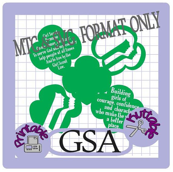 Girl Scouts Bundle Cut Files MTC & SVG File by TheScrapoholic