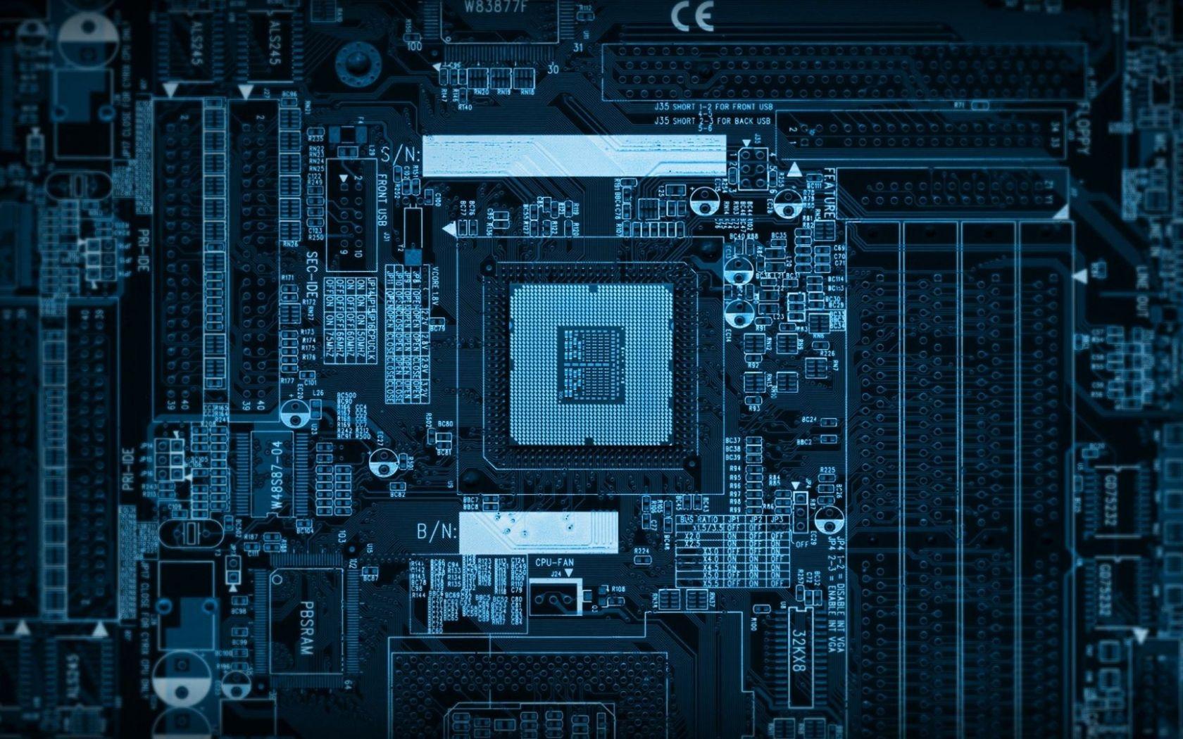 1680x1050 Wallpaper Chip Computer Microchip Processor Technology Wallpaper Hd Wallpaper Android Android Technology