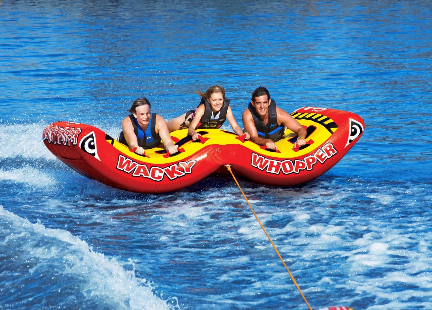 Amazon Com Sportsstuff 53 2263 Rockin Mable 3 Towable Tube 3 Rider Waterskiing Towables Sports Outdoors Water Skiing Towable Tubes Rockin