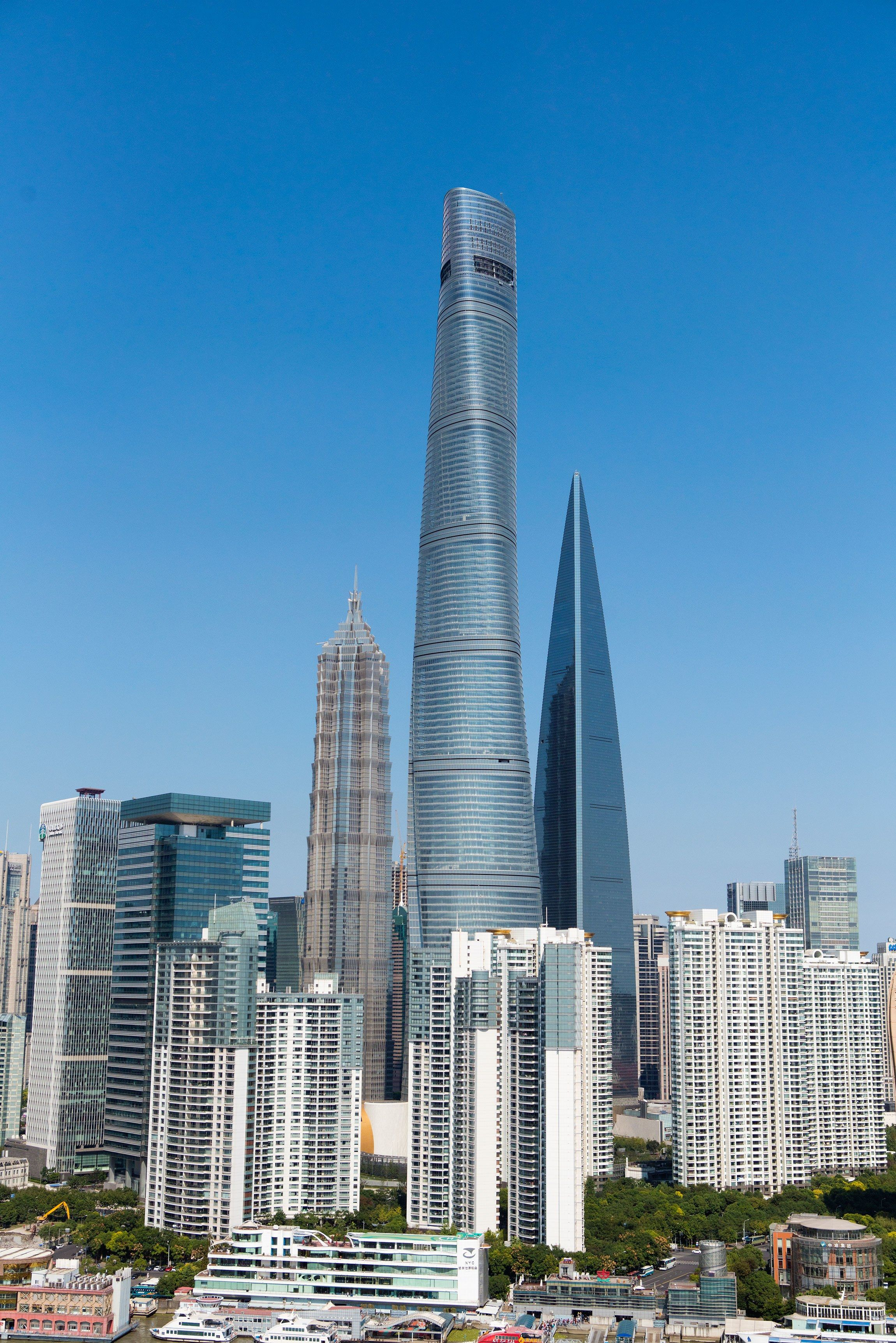 Gensler Shanghai Tower Here Are The Worlds Best Twisted Skyscrapers