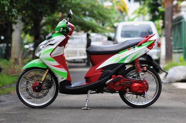 Foto Modifikasi Motor Matic Terbaru Motor Motor Yamaha Gambar