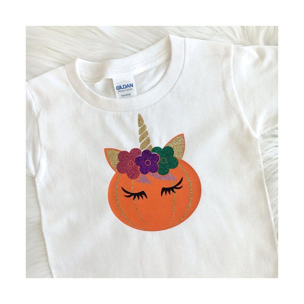 78875b051 Pumpkin Unicorn- Halloween Unicorn Shirt, Unicorn Party Shirt, Unicorn  Birthday Party, 1st Birthday Tee