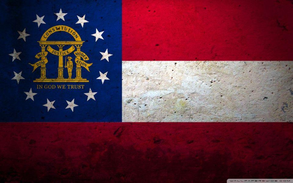 Grunge Flag Of Georgia (US State) HD desktop wallpaper : High ...