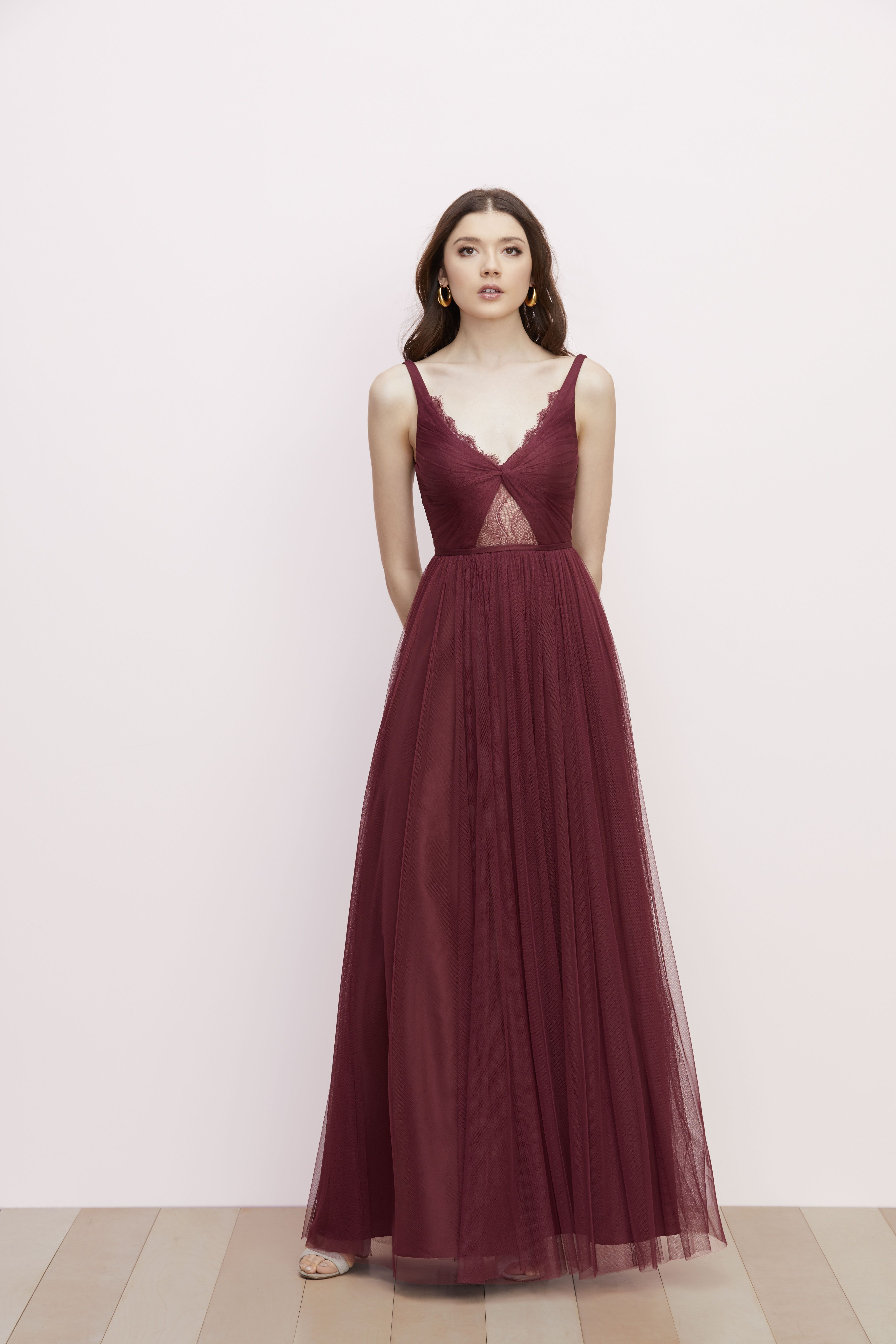Watters Bridesmaid Dress Dark Wine Red Kyla Watters Bridesmaid Dresses Dresses Simple Prom Dress [ 6720 x 4480 Pixel ]