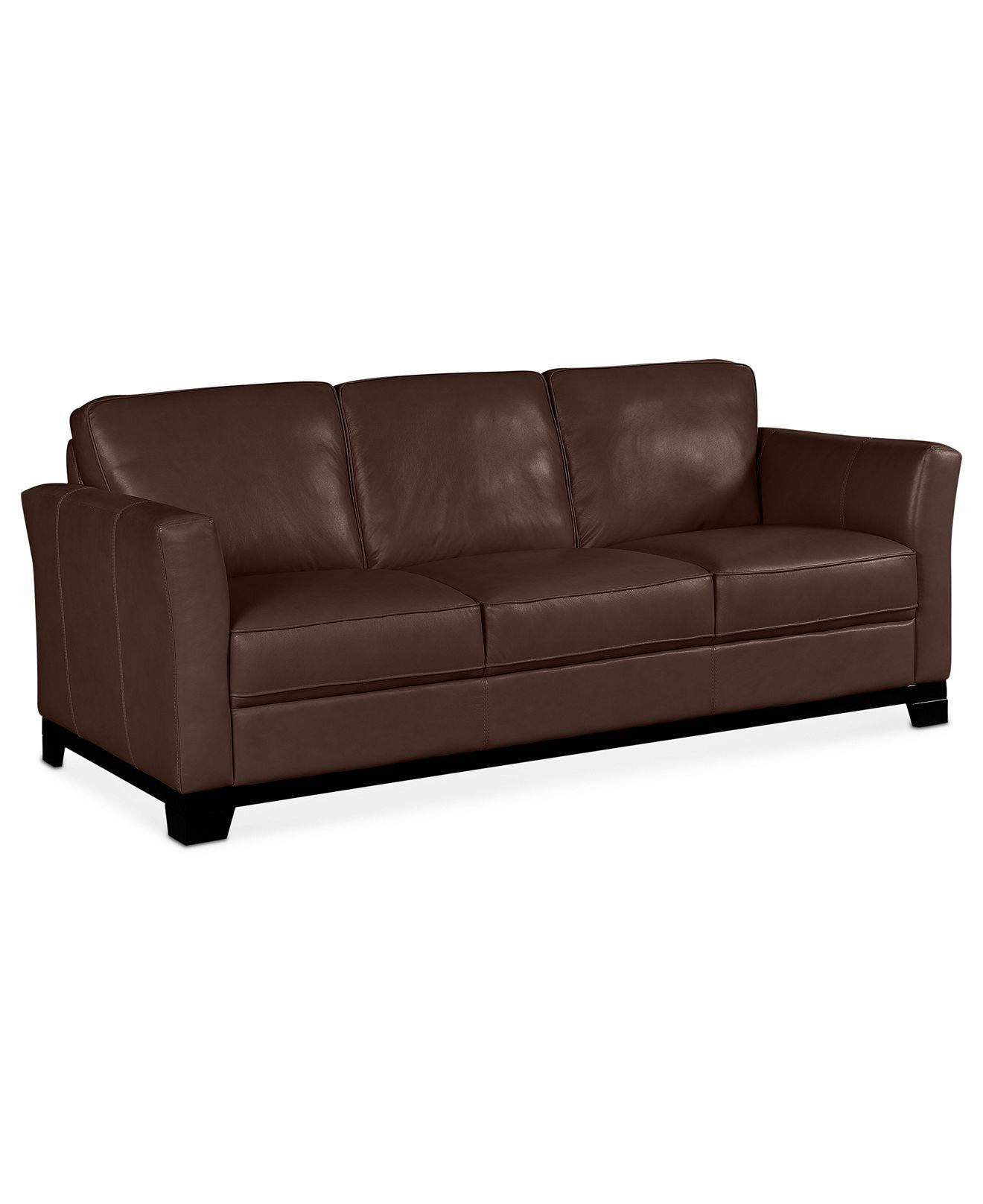 Turin Leather Sofa 87