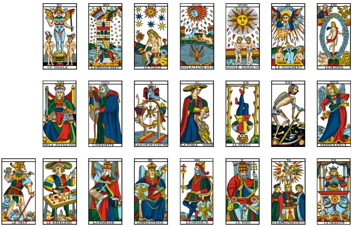 tarot card list tarot cards are the doorway to your past and your