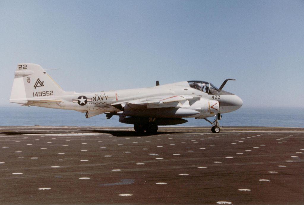 VA304 KA6D Military aircraft, Flight deck, Aircraft