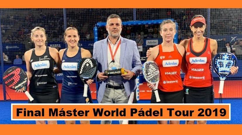 """""""Maestras"""" World Pádel Tour 2019 ¡Enhorabuena! Maestros"""