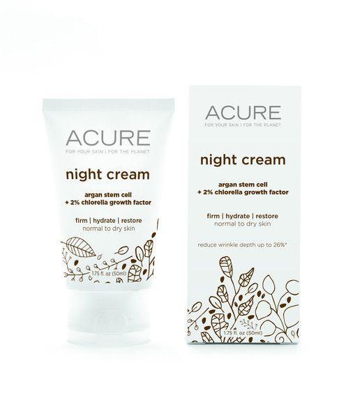 Night Creams, Acure, Diy Night Cream