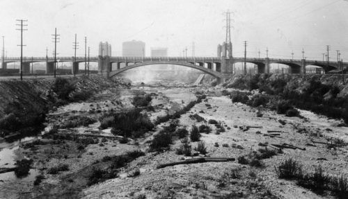 "25 Photos of the Los Angeles River Before It Was ""Paved"" (Concrete-Lined) in 1938 - Sepia Tones - Curbed LA"