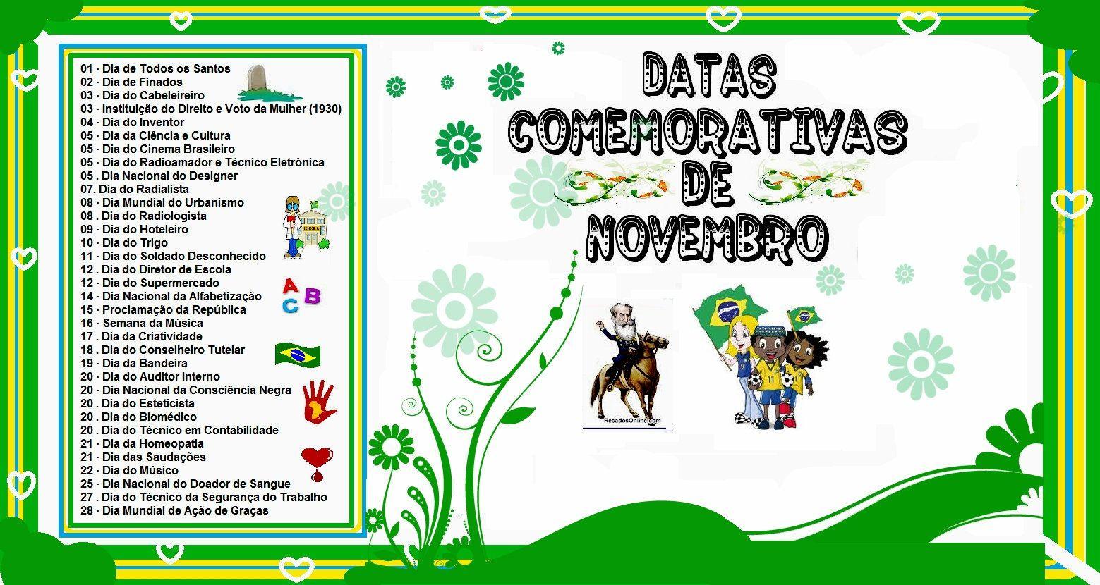 Super datas comemorativas mês de outubro 2016 | ROSA MÍSTICA: DATAS  DX32