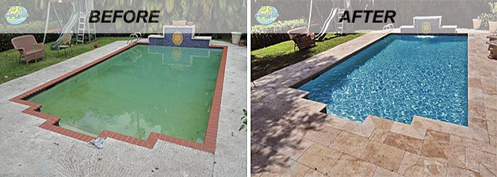 Swimming Pool Renovations: Before and After | InTheSwim Pool Blog ...