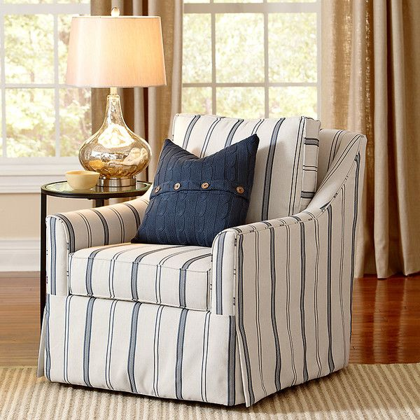 Leah Swivel Chair Upholstered Swivel Chairs Coastal Living Rooms Coastal Chairs