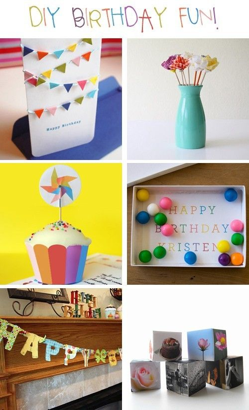 Thoughtful do it yourself handmade gifts birthday fun birthday homemade birthday gifts solutioingenieria Gallery