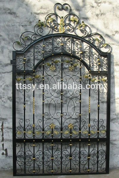 small wrought iron gate for sale small iron gate for sale cheap wrought iron gate cast design iron gate product on alibaba