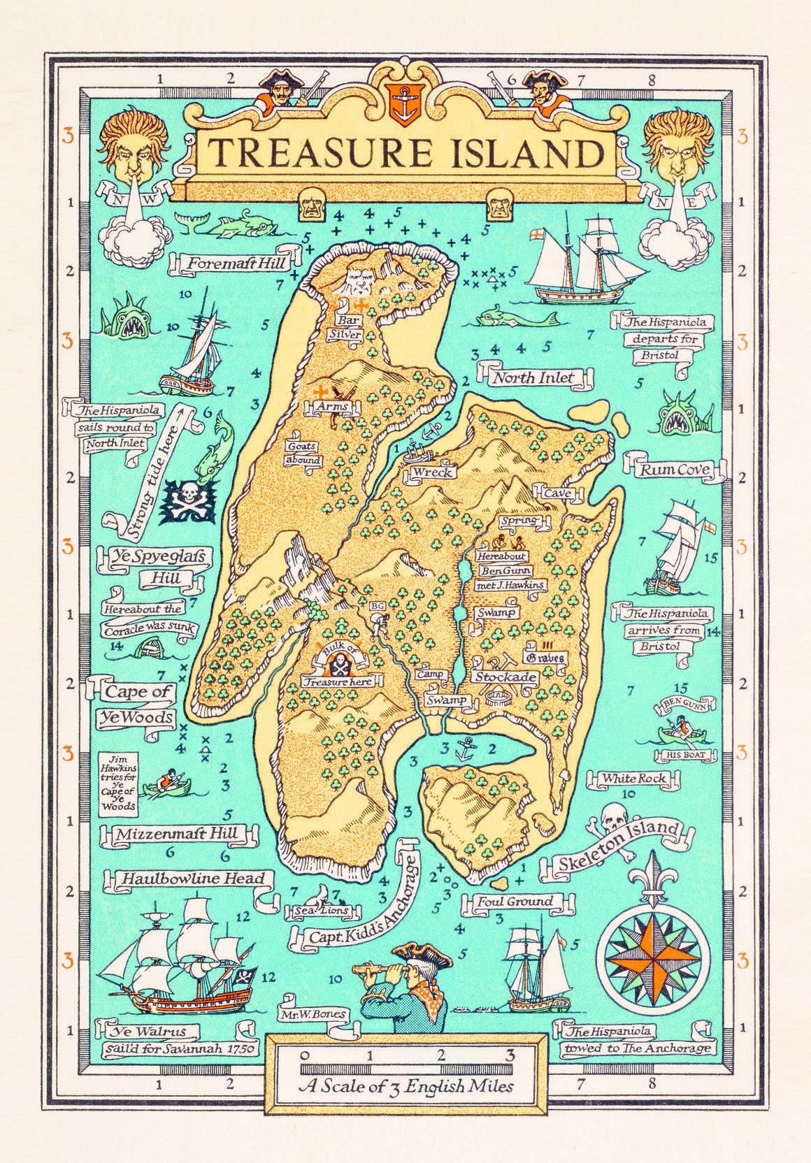 How Writers Map Their Imaginary Worlds | Beautiful Books | Treasure