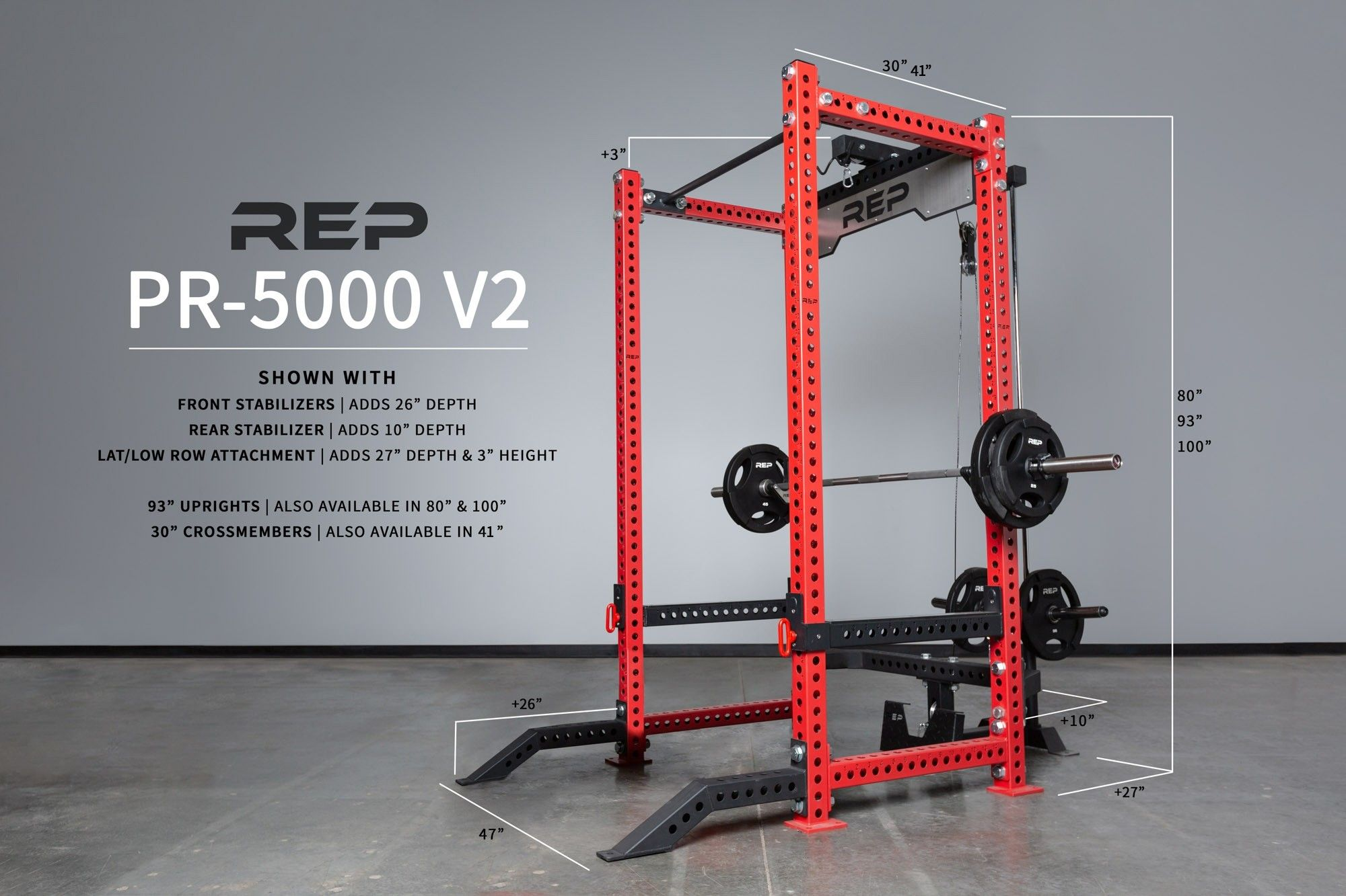 Power racks from rep fitness for your home gym or garage