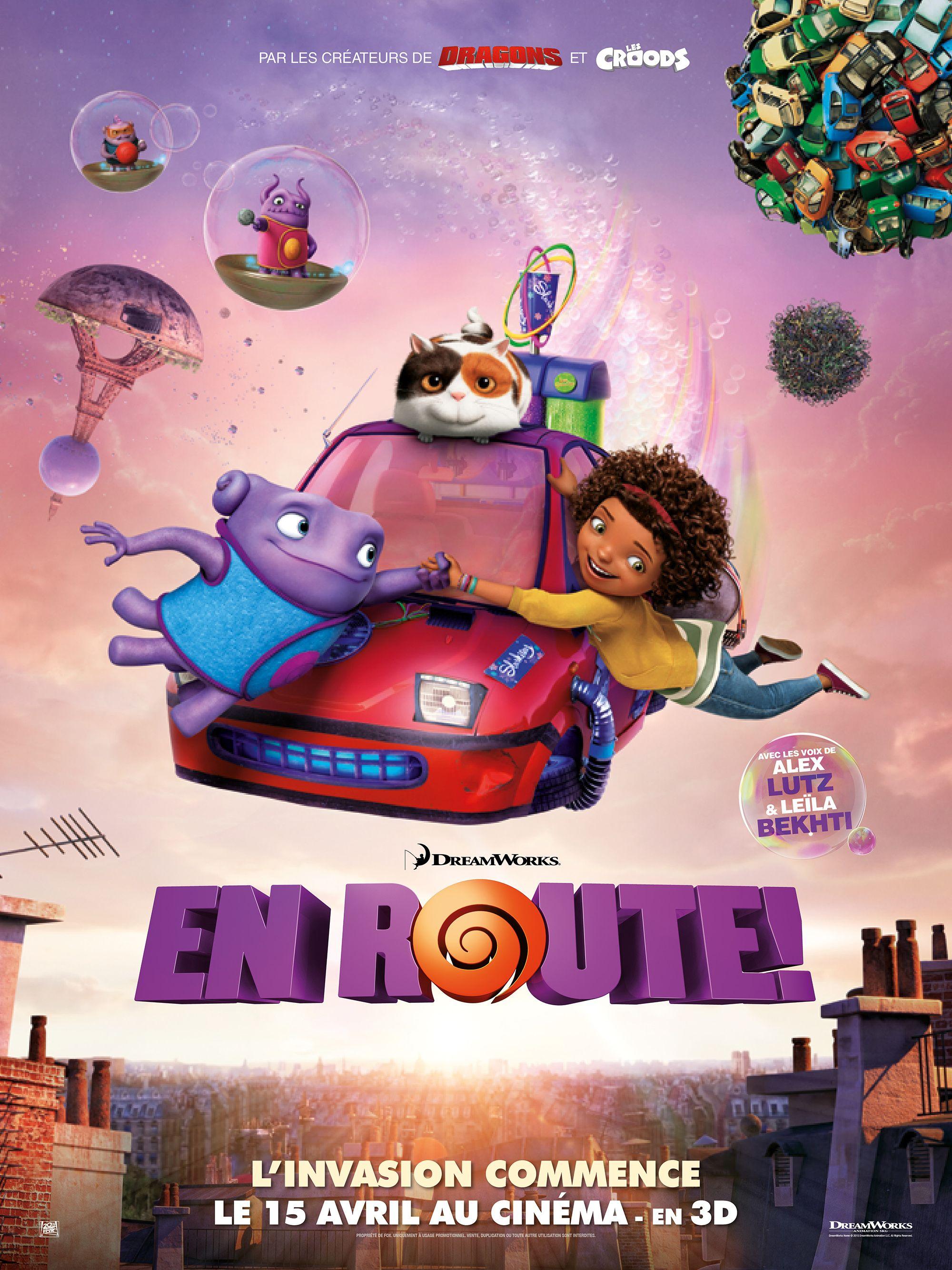 """""""En route!"""" de Tim Johnson, diffusé par Du Cinéma Plein"""