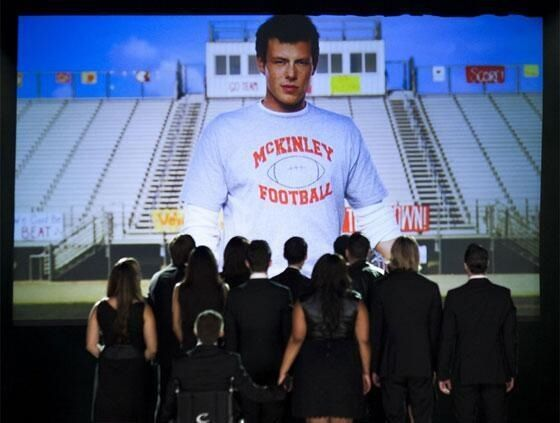 The Quarterback -Glee - RIP Cory Monteith