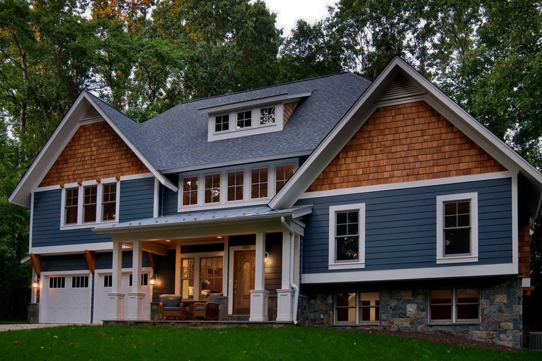 Taper Sawn Red Cedar Shakes Best House Exterior Blue Exterior House Colors House Exterior