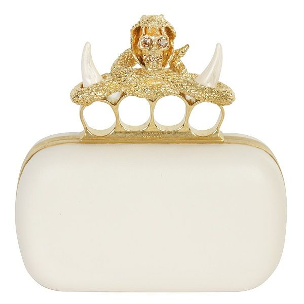 Brass knuckle clutch... Alexander McQueen Clutch