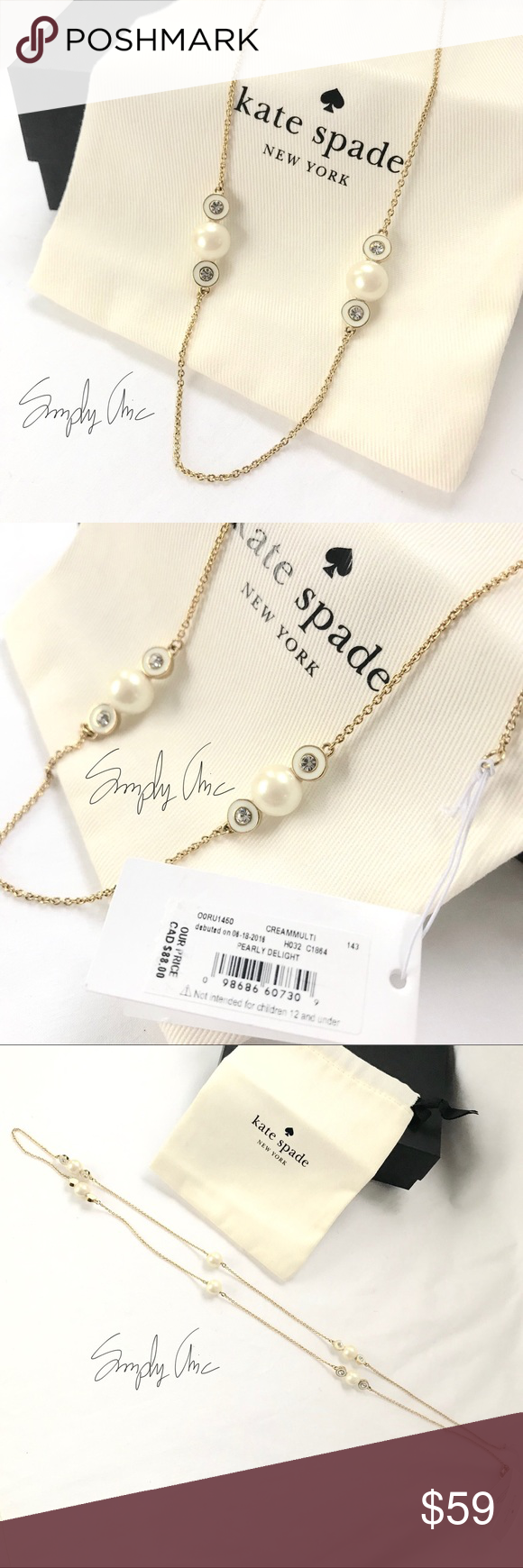 7df33279ba56b New Kate Spade pearly delight necklace Add instant elegance to any ...
