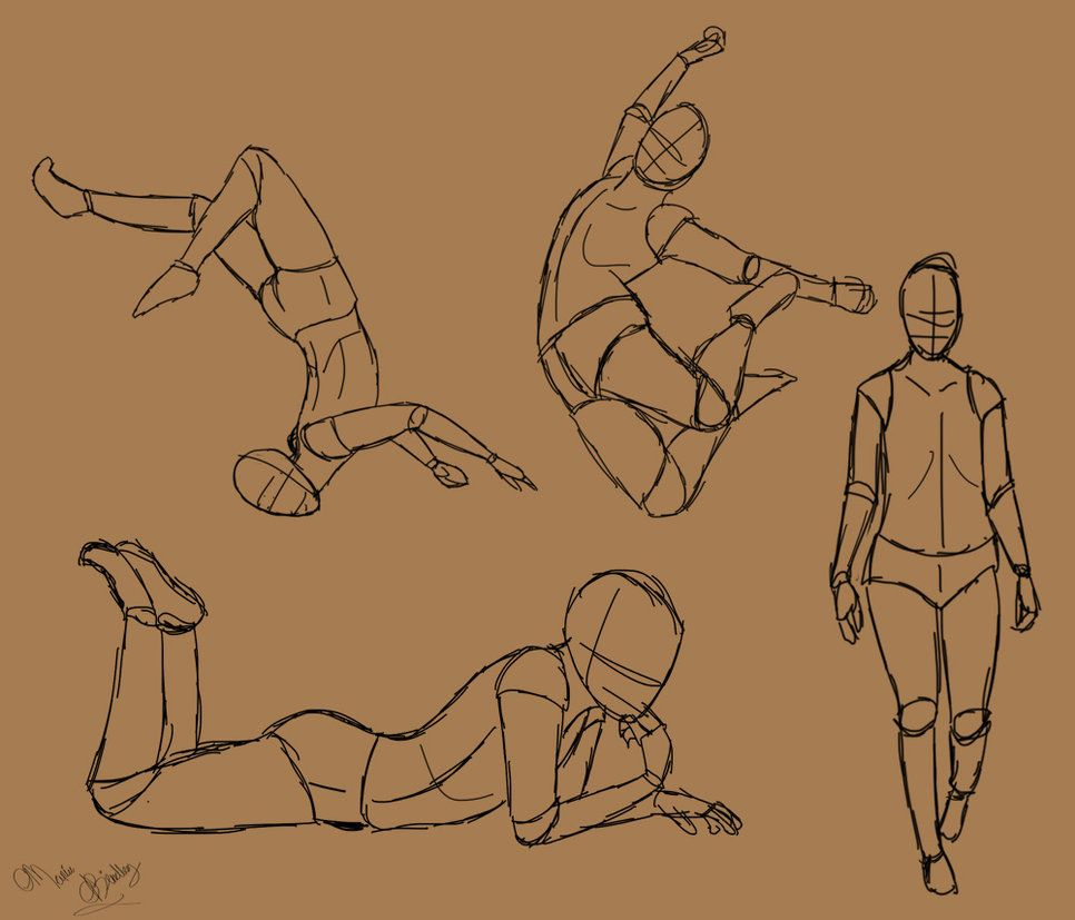 Random Poses Jumping Poses Sketch Poses Art Poses