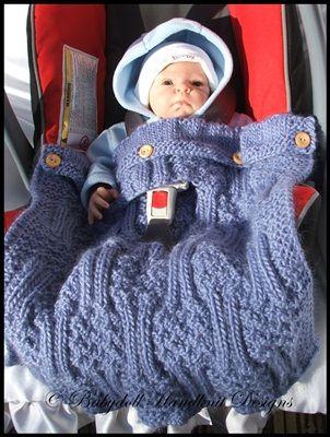 Chunky Super Chunky Bulkysuperbulky Winter Car Seat Blankets