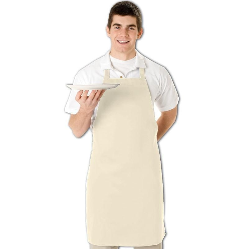 Durable Cotton/Poly Twill Fabric Butcher Chef Apron - Q2010