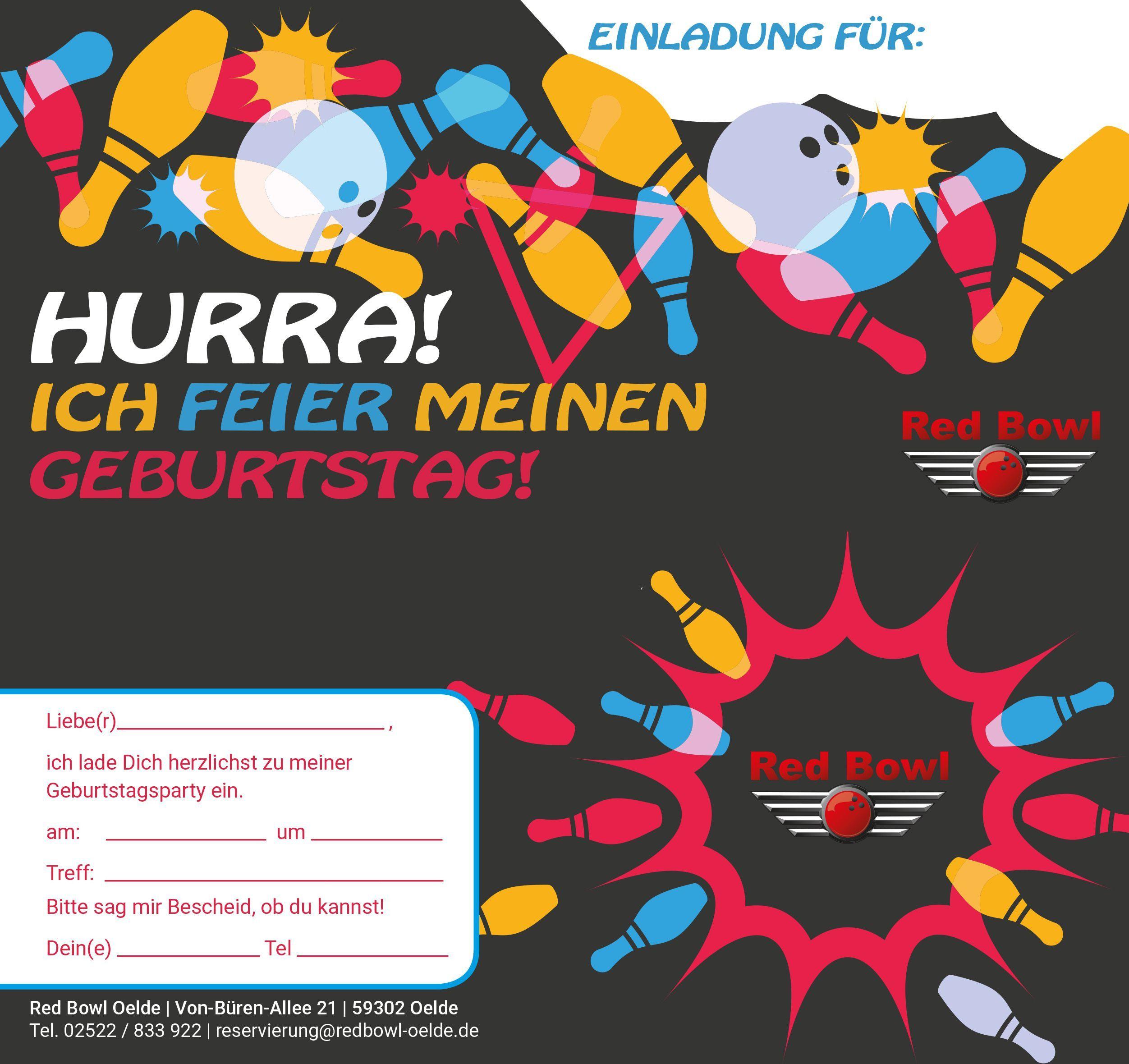 einladung kindergeburtstag kostenlos bowling luxury