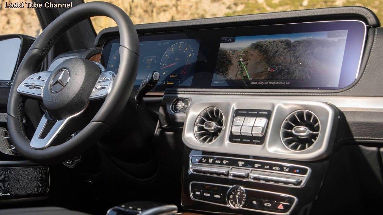 2019 Mercedes Benz G Class type interior design luxurious