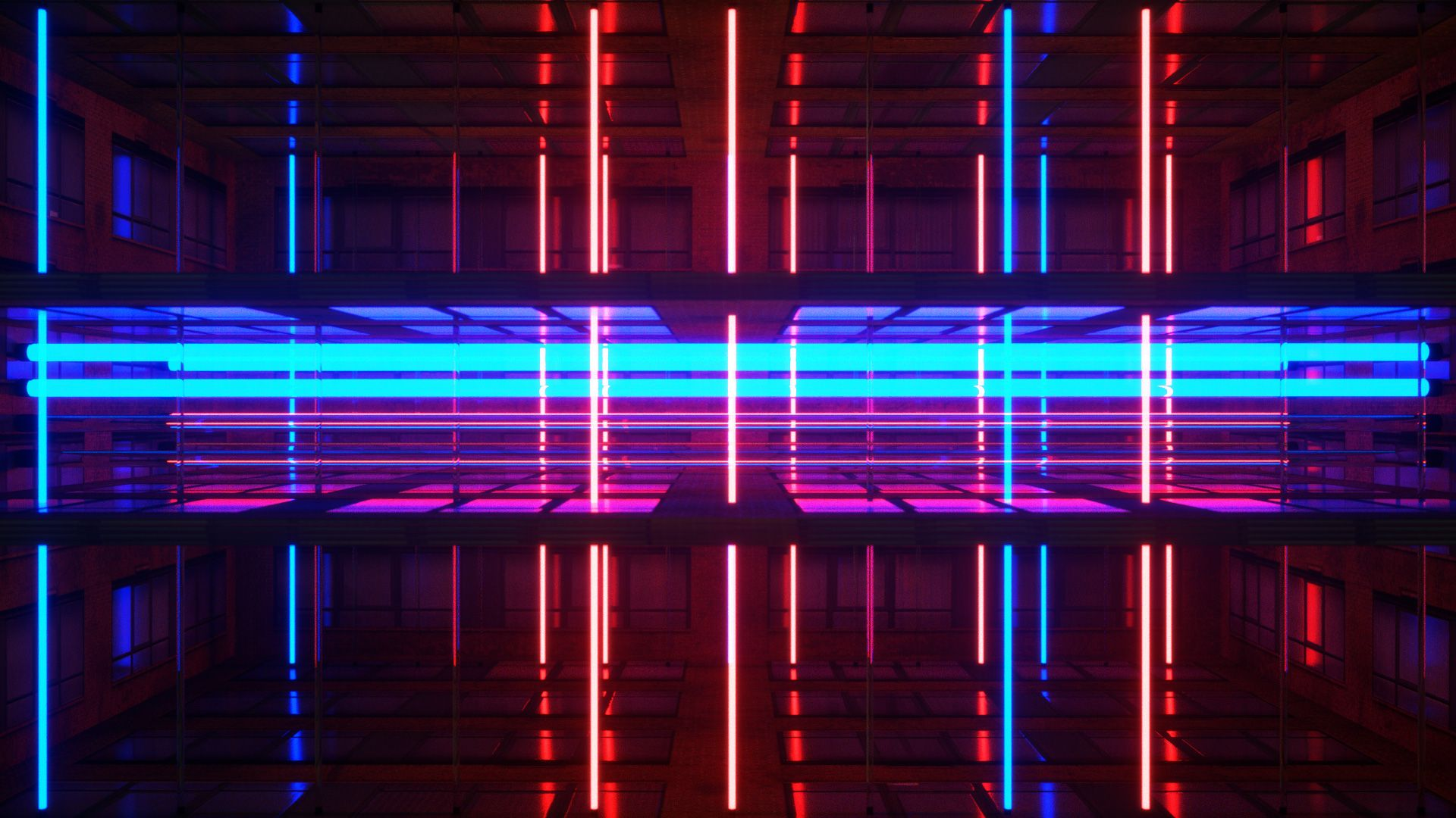 Neon Rooms VJ Loops Pack by Ghosteam   broadcast   Мазда