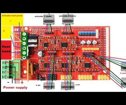 How to Wire a 3d Printer Schematic Arduino Mega 3d