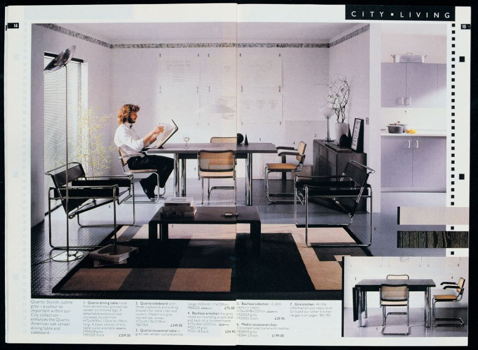 Clean living: Habitat helped pioneer the minimalist trend of interior design  during the 1980s,