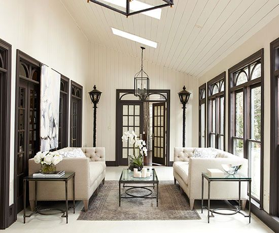 5 Beautiful Accent Wall Ideas To Spruce Up Your Home: Porches & Sunrooms Slide Show In 2019