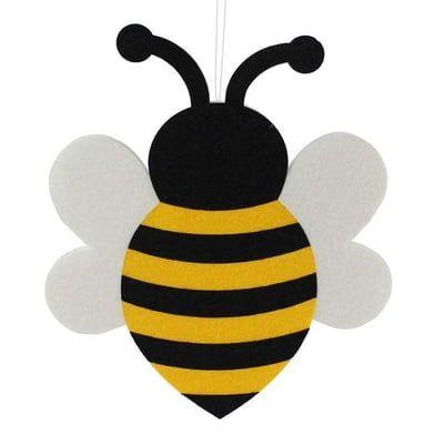 15 Large Bumble Bee Wall Hanging Foam Felt Arilar Cocuklar Icin Sanat Kagit Cicek