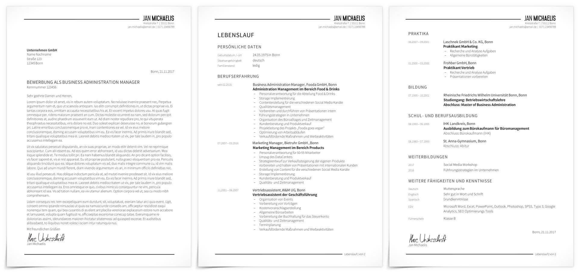Im Uberblick Das Komplette Premium Design Schlicht Inkl Anschreiben Deckblatt Lebenslauf Und Motivationssc Lebenslauf Bewerbung Design Bewerbungsdesign