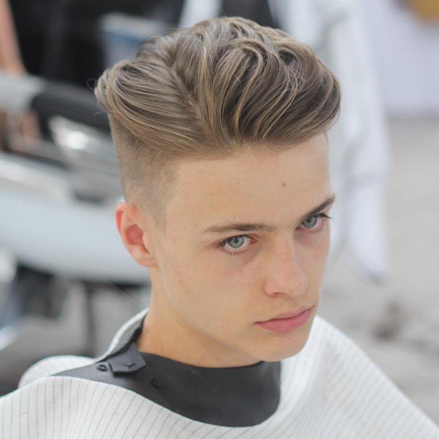 海外の髪型 メンズの刈り上げはフェードカット オールバックが定番