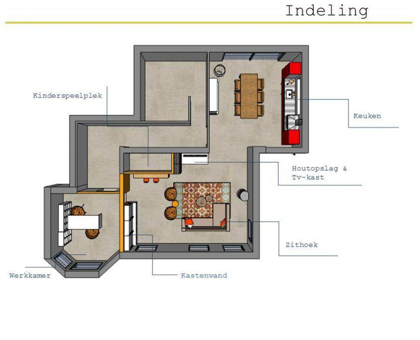 interieuradvies-indelingsplan-plattegrond-woonkamer-giekerk-gytsjerk ...