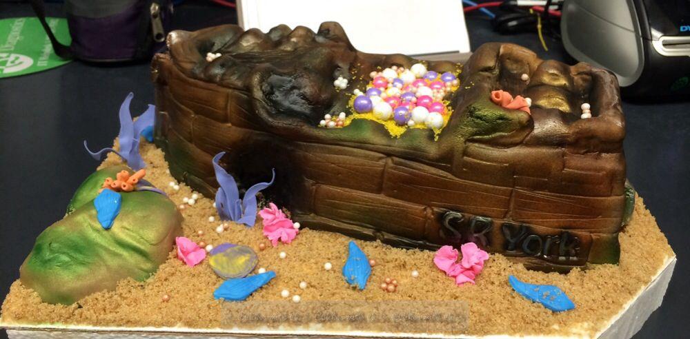 Sunken Ship Birthday Cake CAikes with Ai Pinterest Birthday