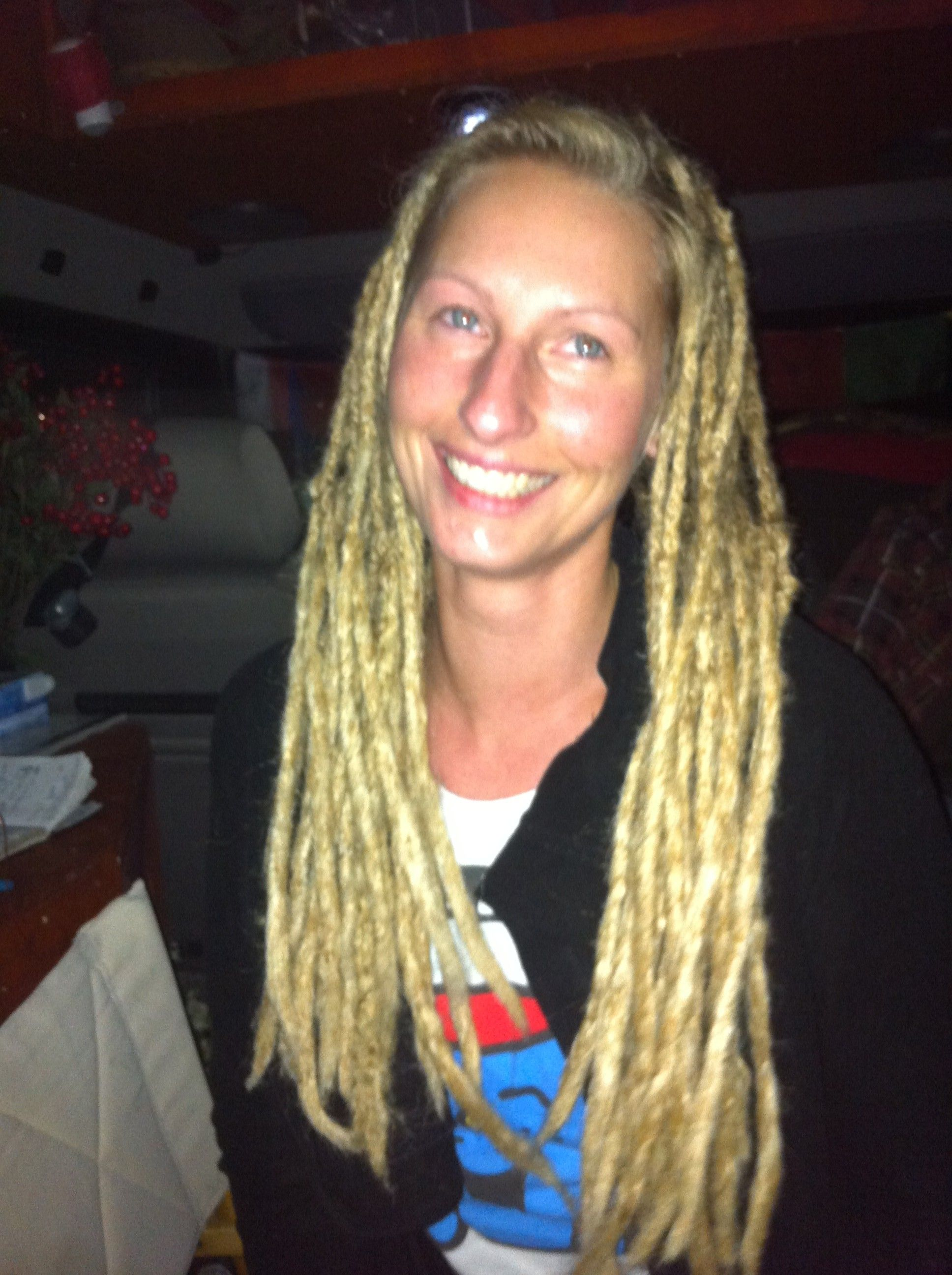 image result for white girls with a few dreads | dreadlocks