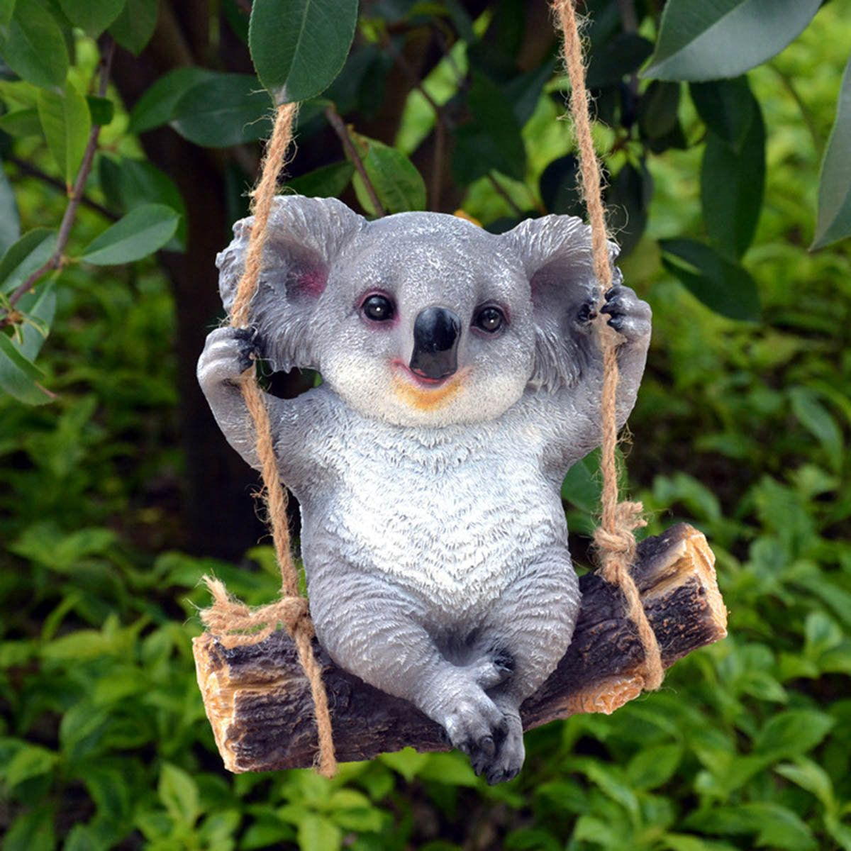 Koala Swing Animals Garden Ornaments Yard Statues Home