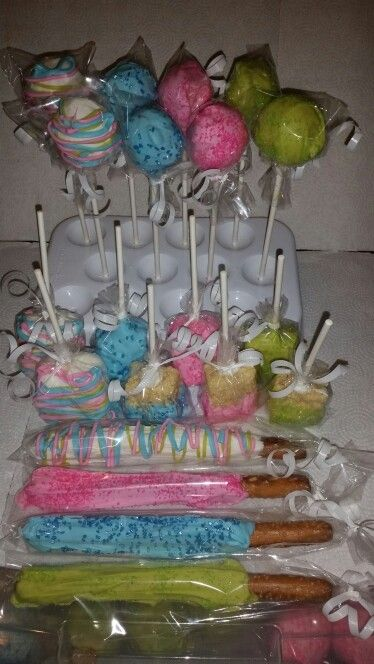 Baby shower treats