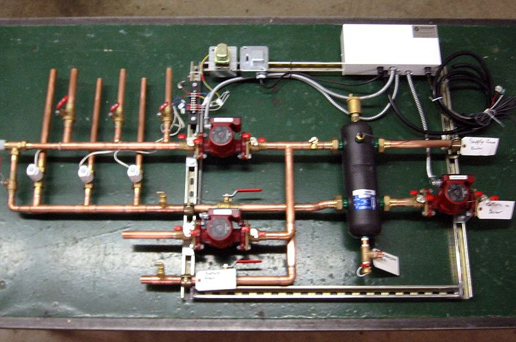 Hydronic Radiant Heating And Cooling Custom System Fabrication