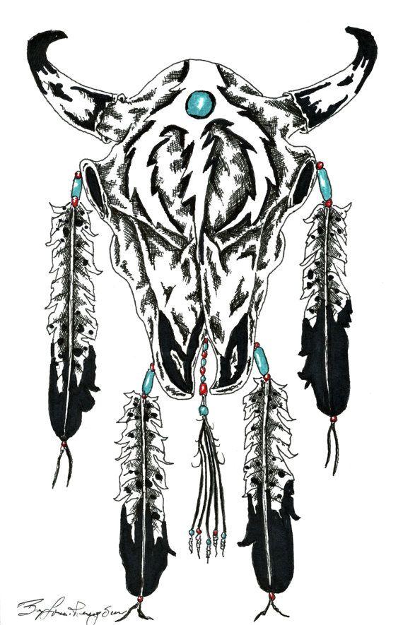 Spirit Of Tanka Traditional Native American Art by RavensGiftShop ...